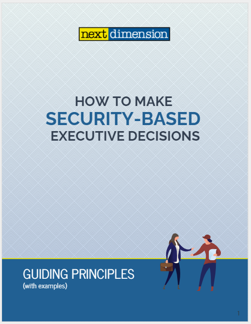security based decision making cover